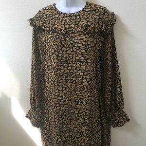 Plus Size 4x Womens Animal Print Dress